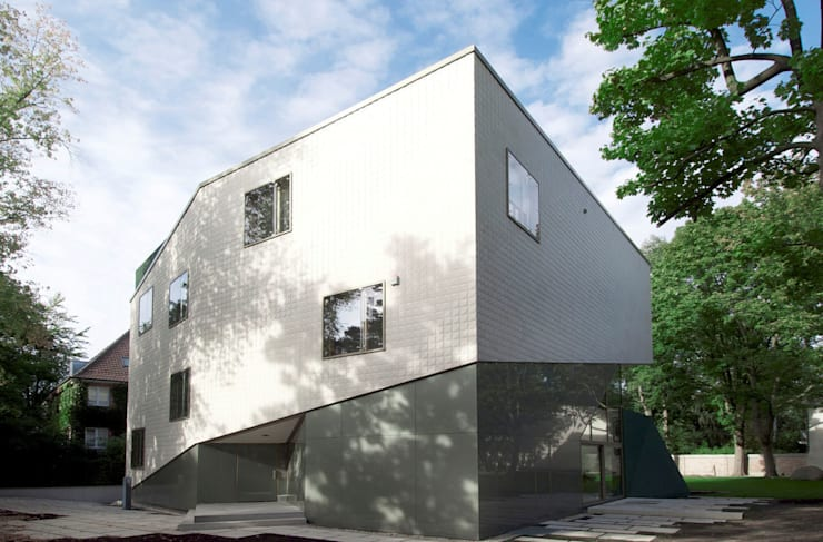 modern Houses by HS Architekten BDA