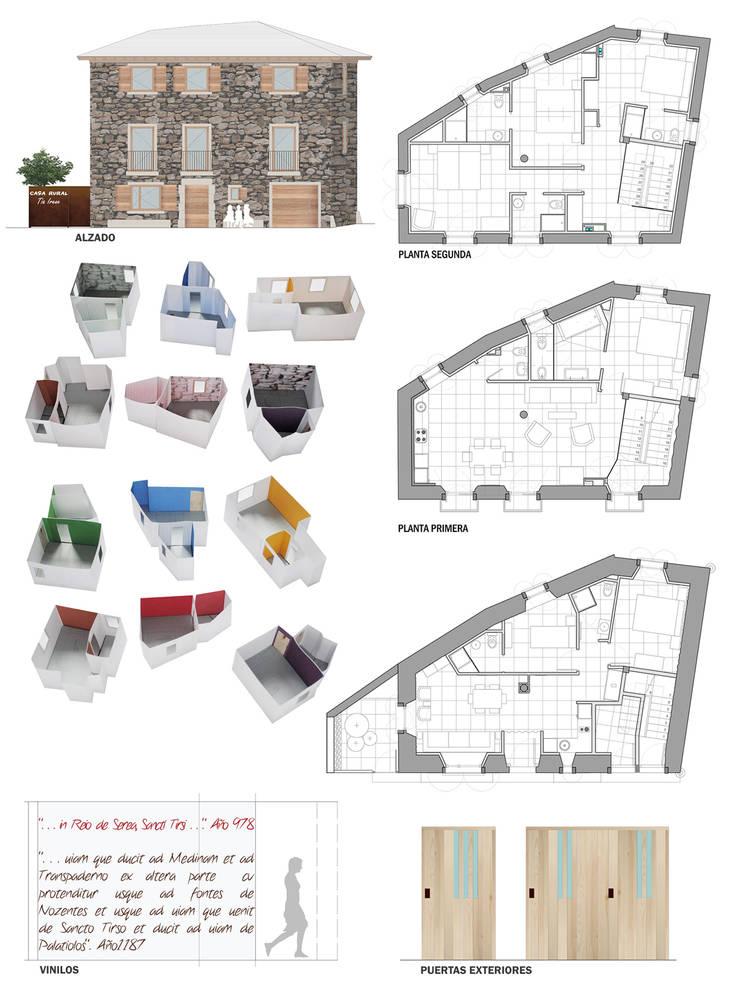 Planos y maquetas:  de estilo  de interior03