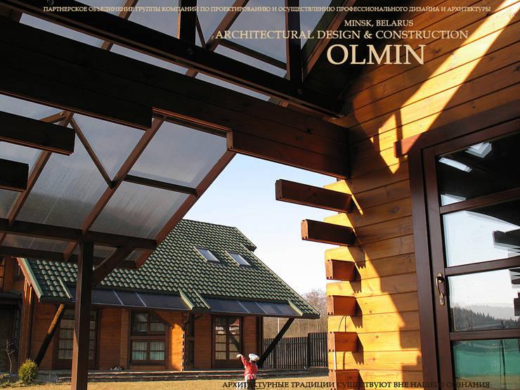 Усадьба - осмысление взглядов:  в . Автор – ИП OLMIN - Архитектурная студия Олега Минакова