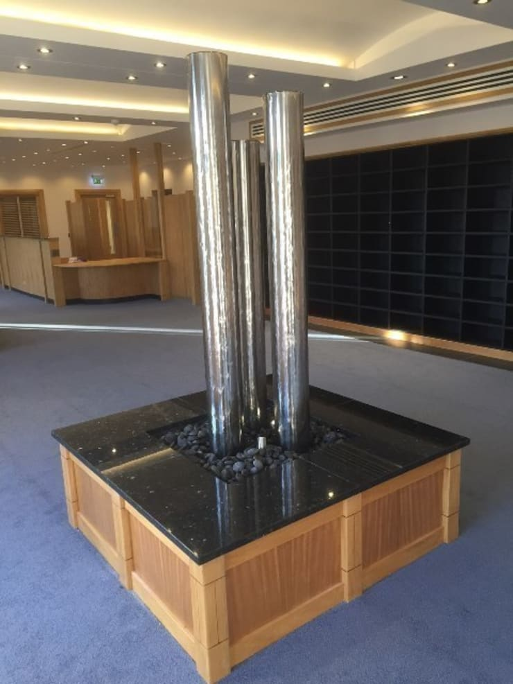 Lincoln Co-Op Funeral Services Headquarters Reception:   by yorkshire water features