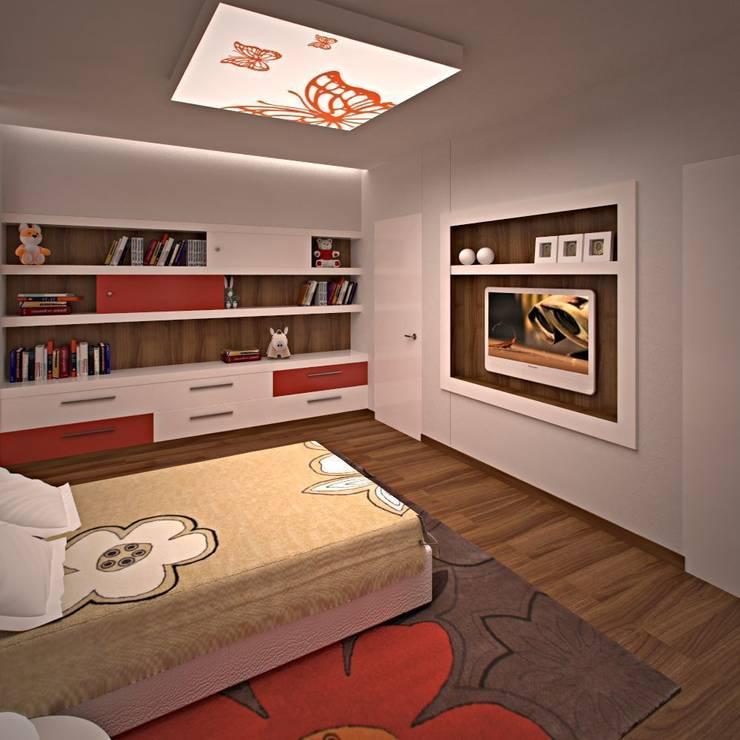 Интерьер детской комнаты: Детские комнаты в . Автор – KARYADESIGN architecture studio