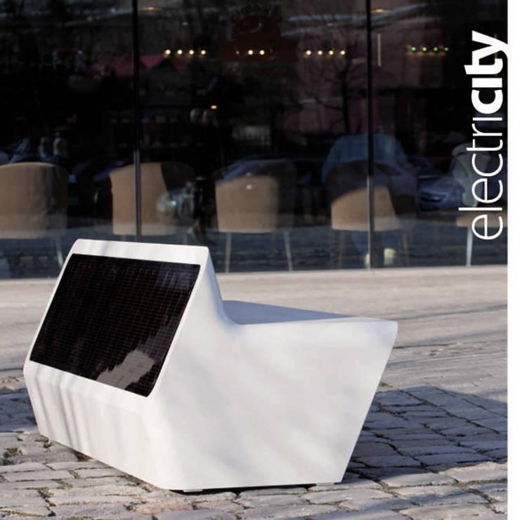 Electricity: styl , w kategorii Ogród zaprojektowany przez Designlab