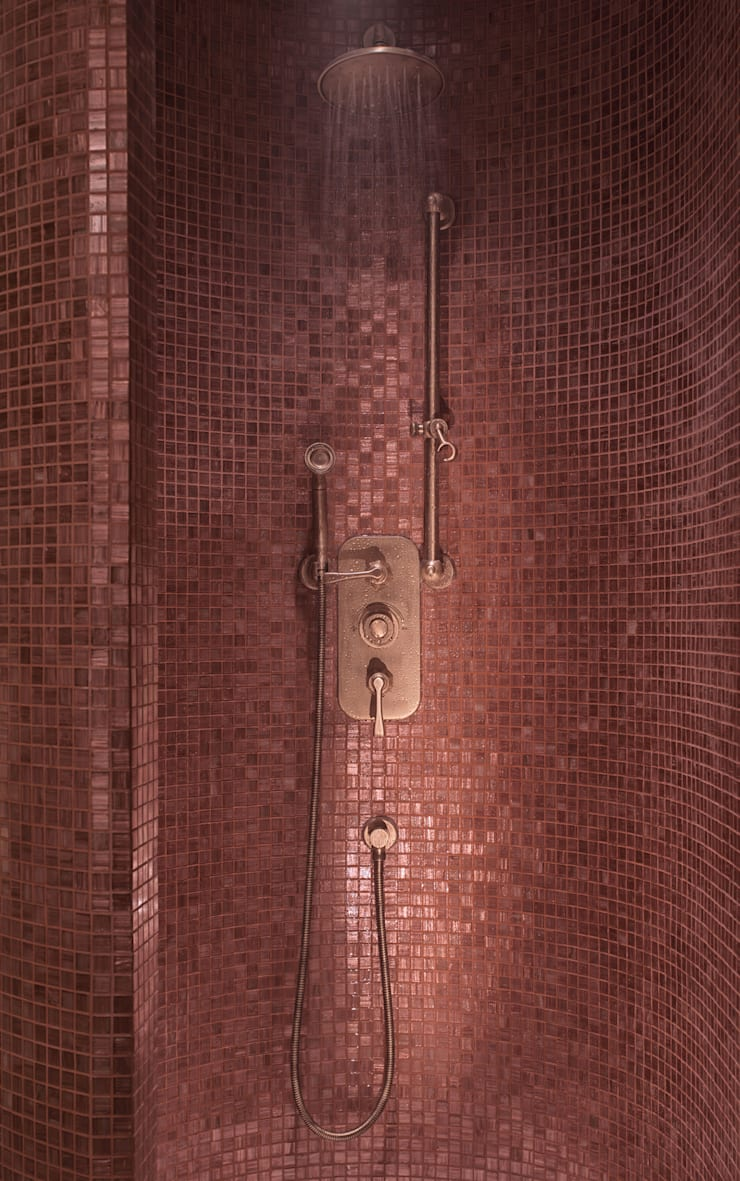 Drummonds case study urban retreat hammam at harrods by for Homify case