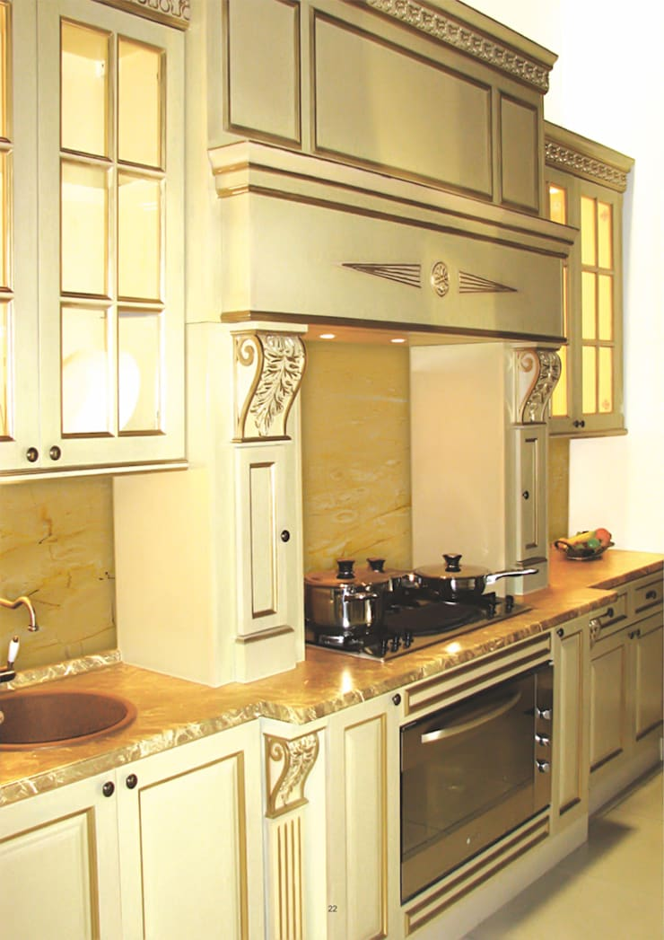 """CARA MIA"": Кухня в . Автор – CARA hardwood"