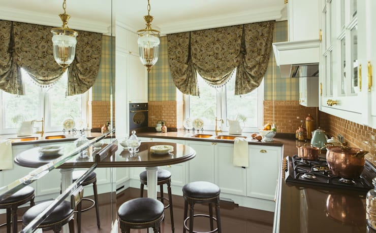Classic style kitchen by studio68-32 Classic