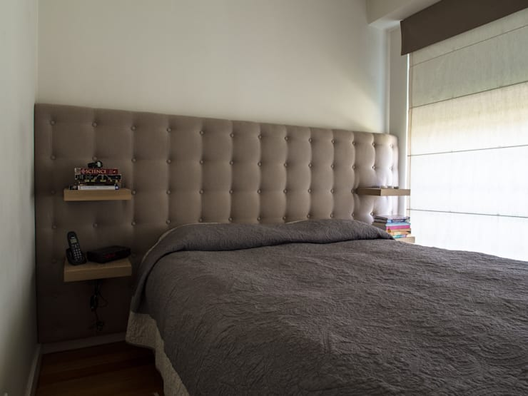 Спальная комната  в . Автор – MUDA Home Design