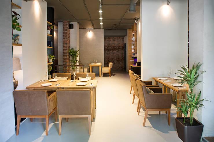Salle à manger de style  par NIdesign