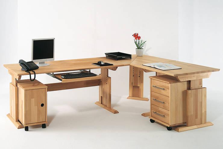 """Schreibtisch """"Sirius"""":  Arbeitszimmer von Allnatura"""