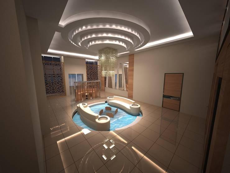 Lal Mimarlık – Lobi Tasarımı:  tarz Ofis Alanları
