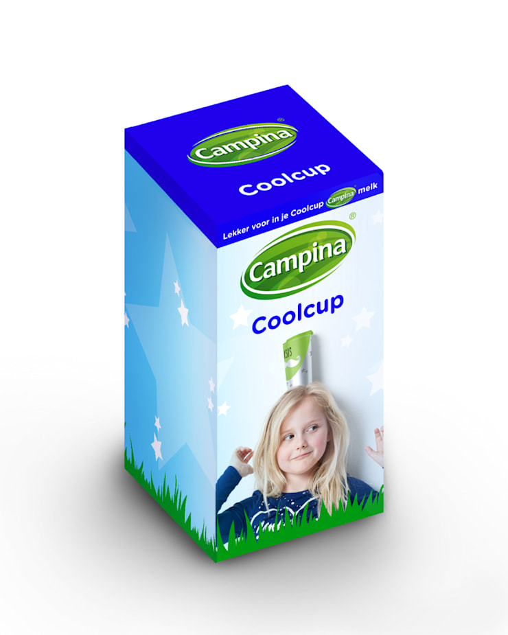 Campina | Coolcup 2014:  Huishouden door Studio Linda Franse