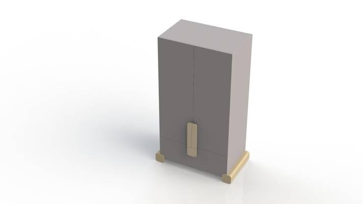 linnenkast STOER: modern  door ukkepuk meubels , Modern