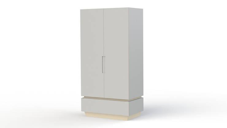 linnenkast LEUK:   door ukkepuk meubels , Minimalistisch