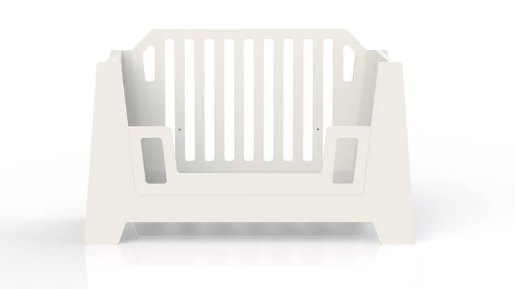 ledikant STERK:  Kinderkamer door ukkepuk meubels