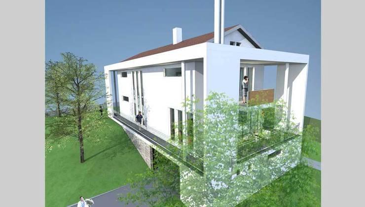 Modernmimarlar Tasarım Danışmanlık – Sami Karadeniz Evi:  tarz Evler