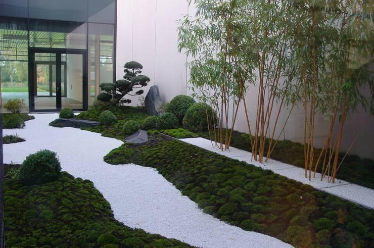 Projekty,  Biurowce zaprojektowane przez japan-garten-kultur