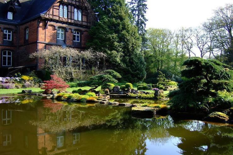 Gartengestaltung unter Anwendung der japanischen Gartenkunst:  Garten von japan-garten-kultur