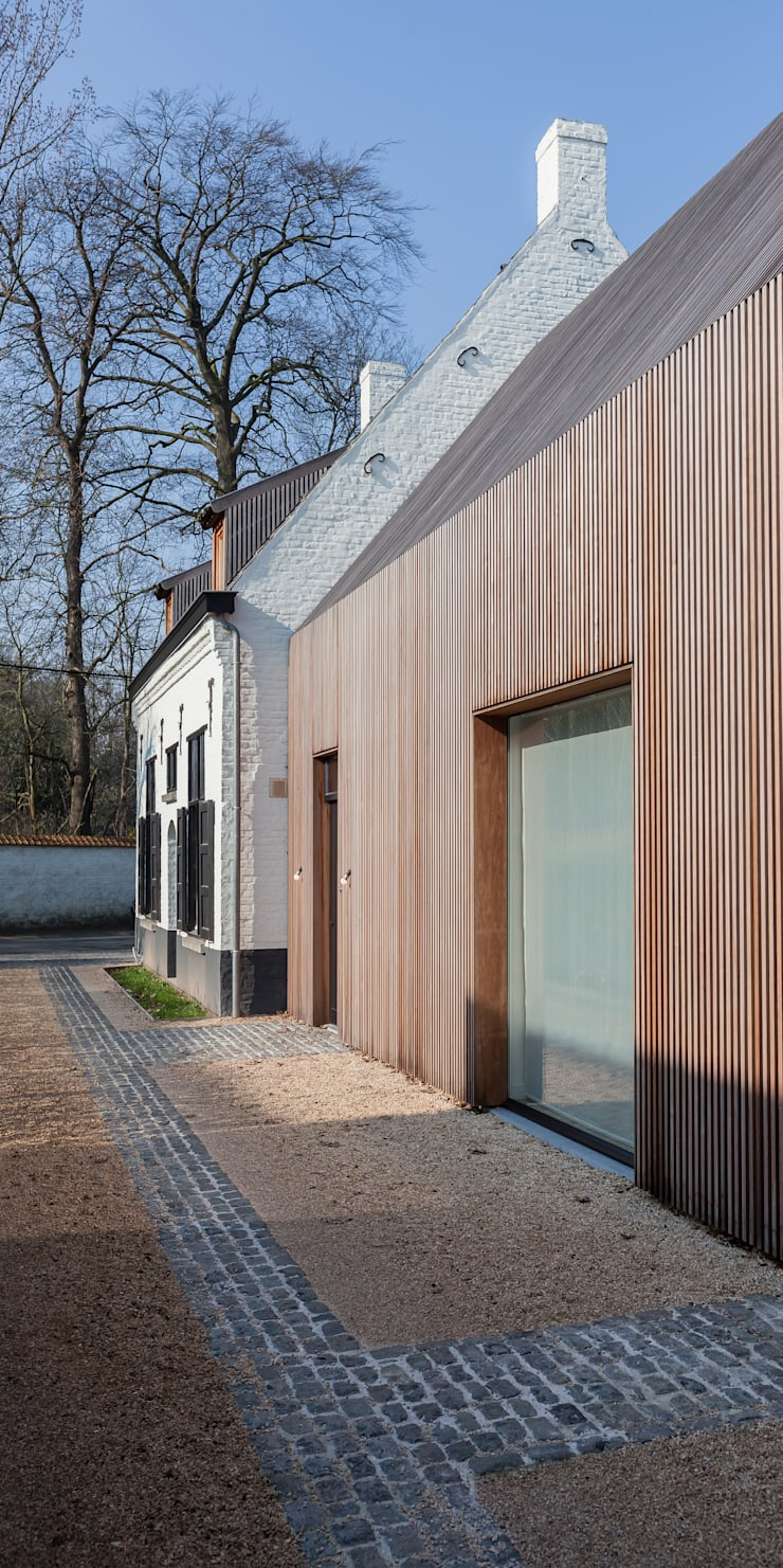 JACHTOPZIENERSWONING – SINT-DENIJS-WESTREM:   door Callebaut Architecten