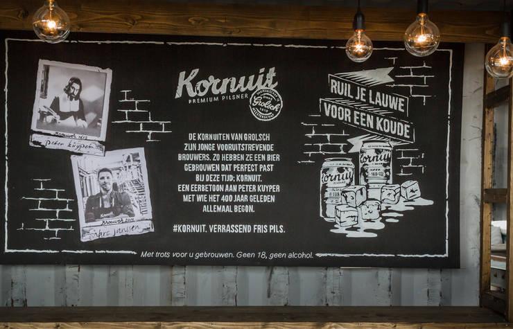 Kornuit | Brand Activation Down the Rabbit Hole 2014:  Gastronomie door Studio Linda Franse