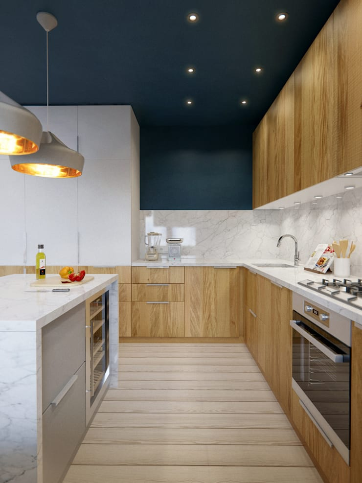 Интерьер OOD: Кухни в . Автор – INT2architecture
