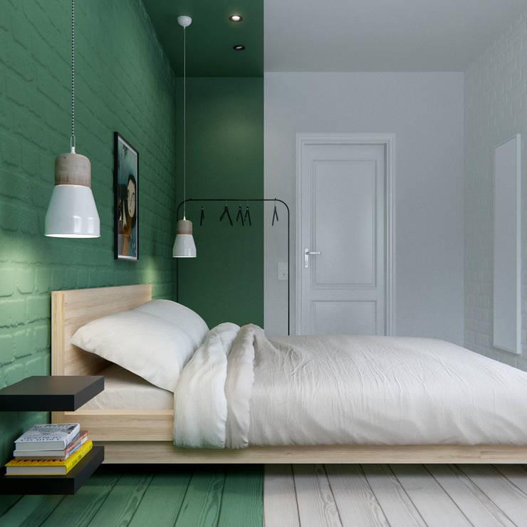 INT2architecture:  tarz Küçük Yatak Odası