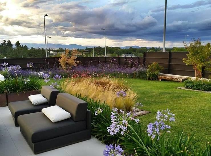 Jardín Contemporaneo: Jardines de estilo  de La Paisajista - Jardines con Alma