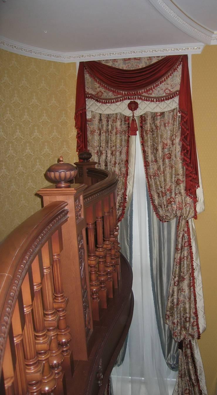 Текстиль. Нестандартные решения : Окна и двери в . Автор – Studio Gergel & P