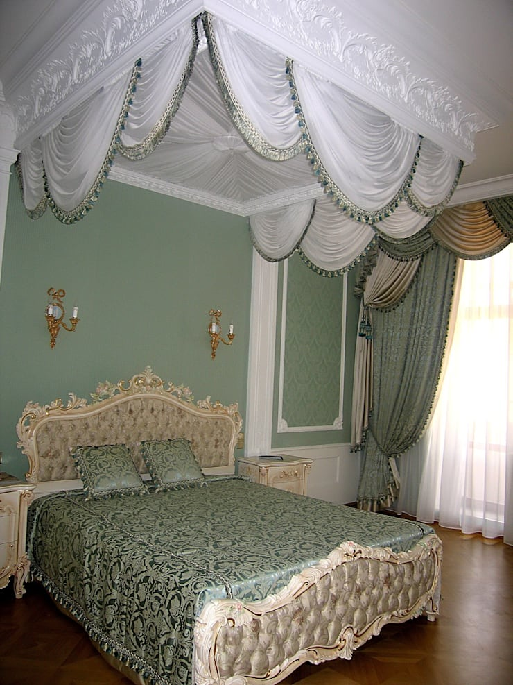 Текстиль. Нестандартные решения : Спальная комната  в . Автор – Studio Gergel & P