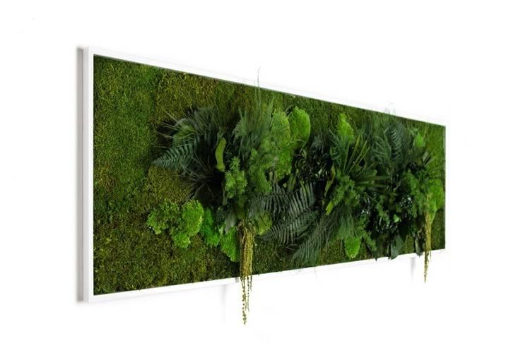 Pflanzenbild 140x40cm:  Esszimmer von FlowerArt GmbH | styleGREEN