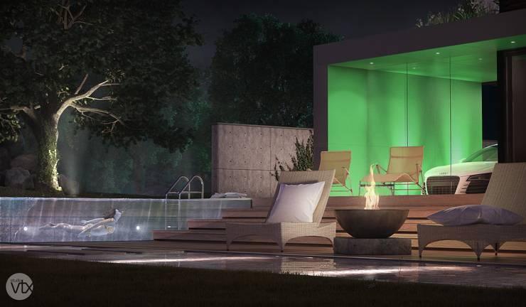 jardim - casa SP: Jardins  por studio vtx