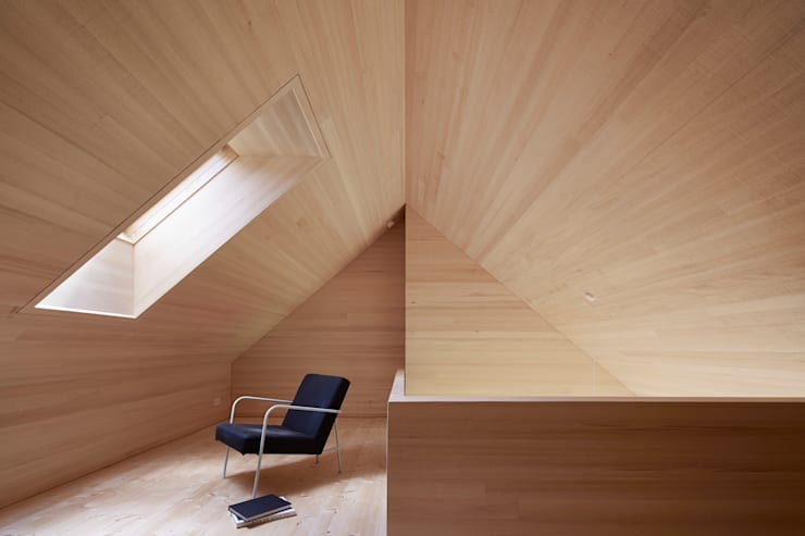 Study/office by Innauer-Matt Architekten ZT GmbH