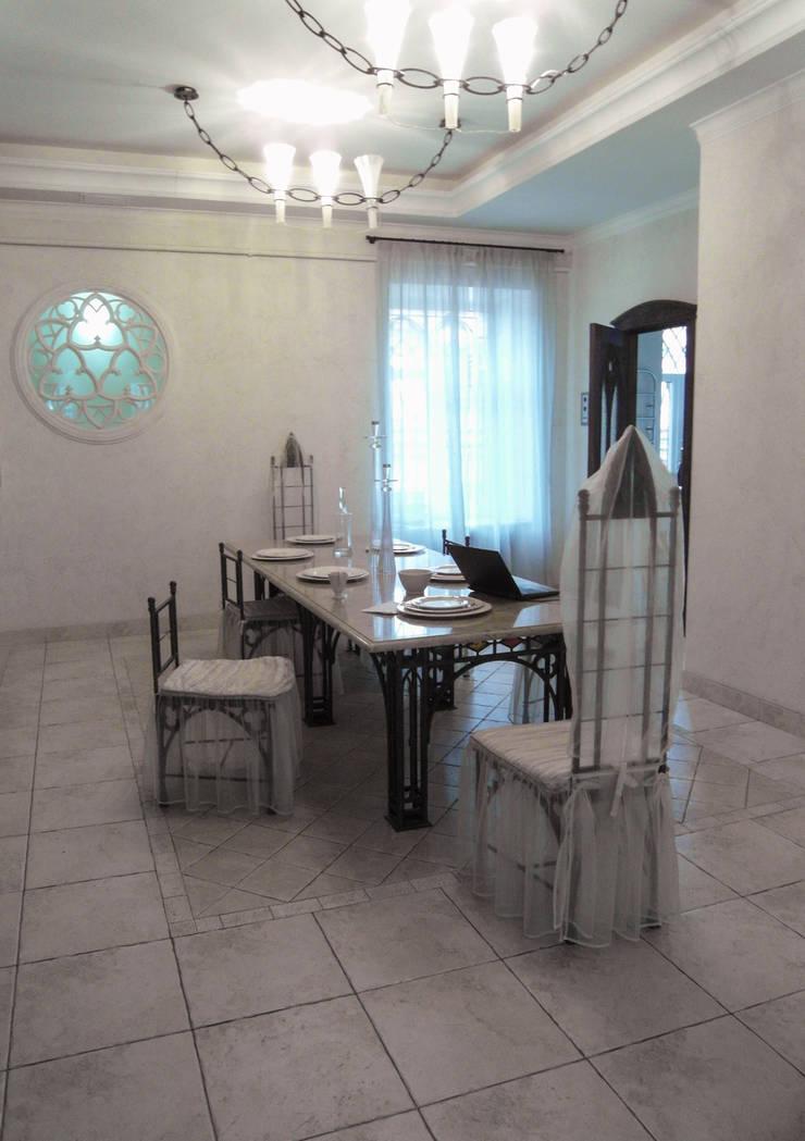 Чехлы для мебели: Столовая комната в . Автор – Studio Gergel & P,