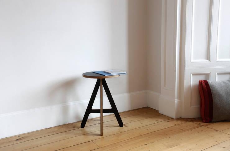 A Stool - black:  Living room by ByALEX