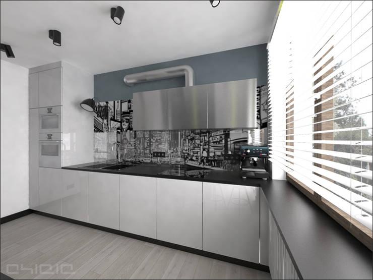 Brzeska: styl , w kategorii Kuchnia zaprojektowany przez OHlala Wnętrza