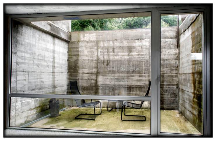 Casa en Dosrius - Barcelona: Terrazas de estilo  de IF arquitectos