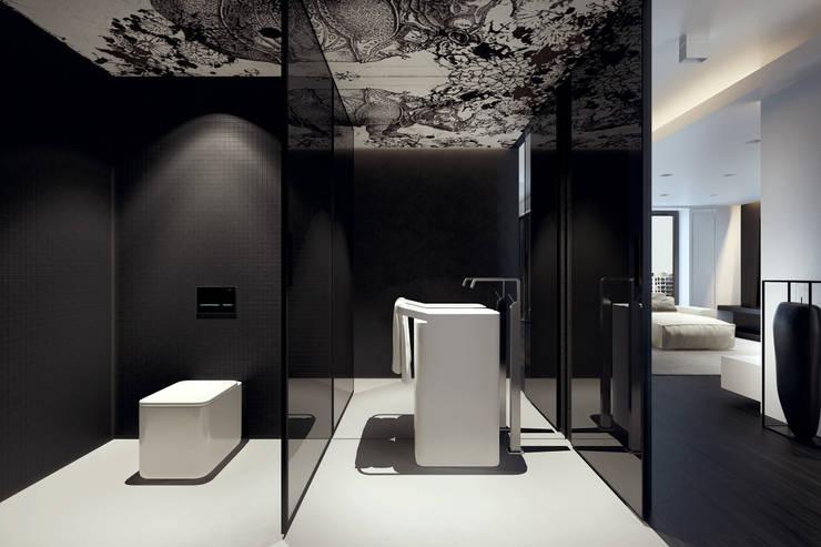 Casas de banho  por KUOO ARCHITECTS