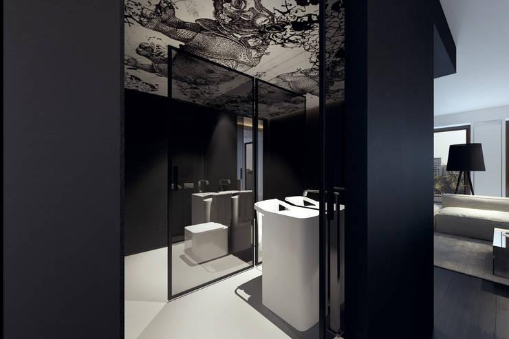 BB APARTAMENT: styl , w kategorii Łazienka zaprojektowany przez KUOO ARCHITECTS