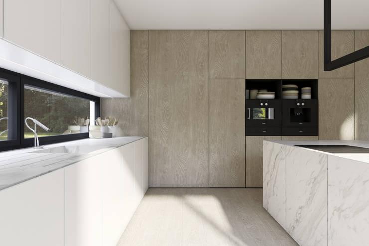 Kitchen by KUOO ARCHITECTS,