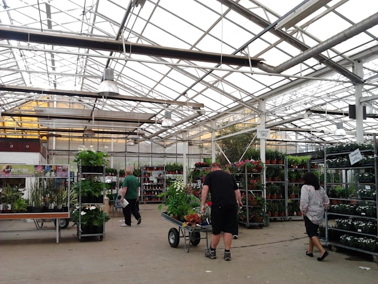 영국의 가든센터: Garden Studio Allium의  정원