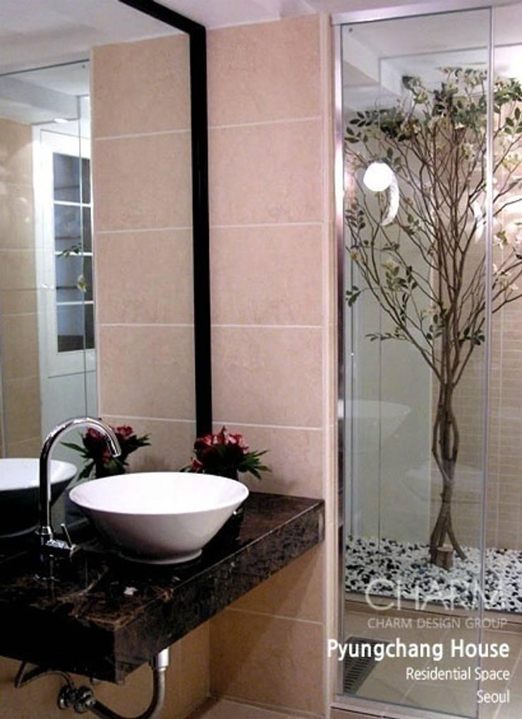 평창동 주택: 참공간 디자인 연구소의  욕실
