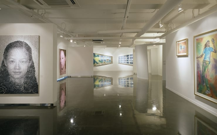 EM 갤러리: 참공간 디자인 연구소의  전시장