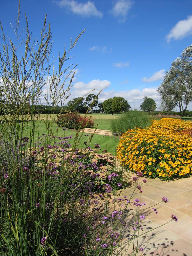 Bold planting:  Garden by Paul Dracott Garden Design