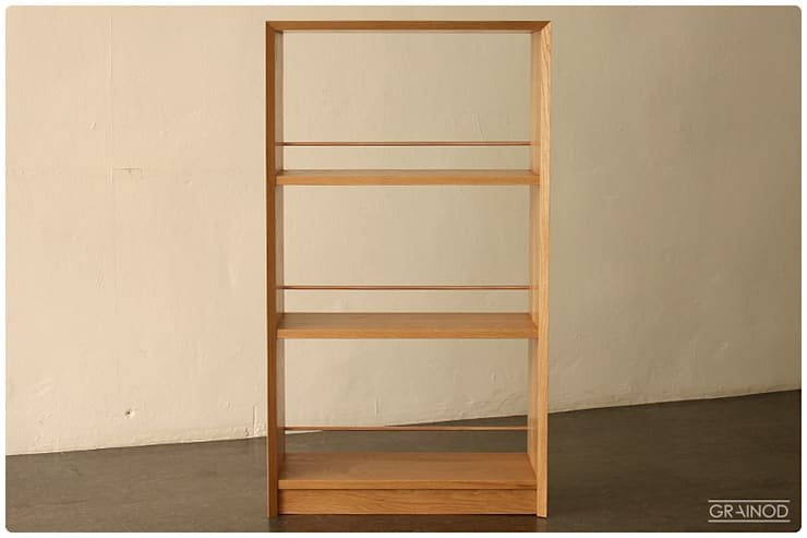 C-bookcase : GRAINOD의  서재/사무실