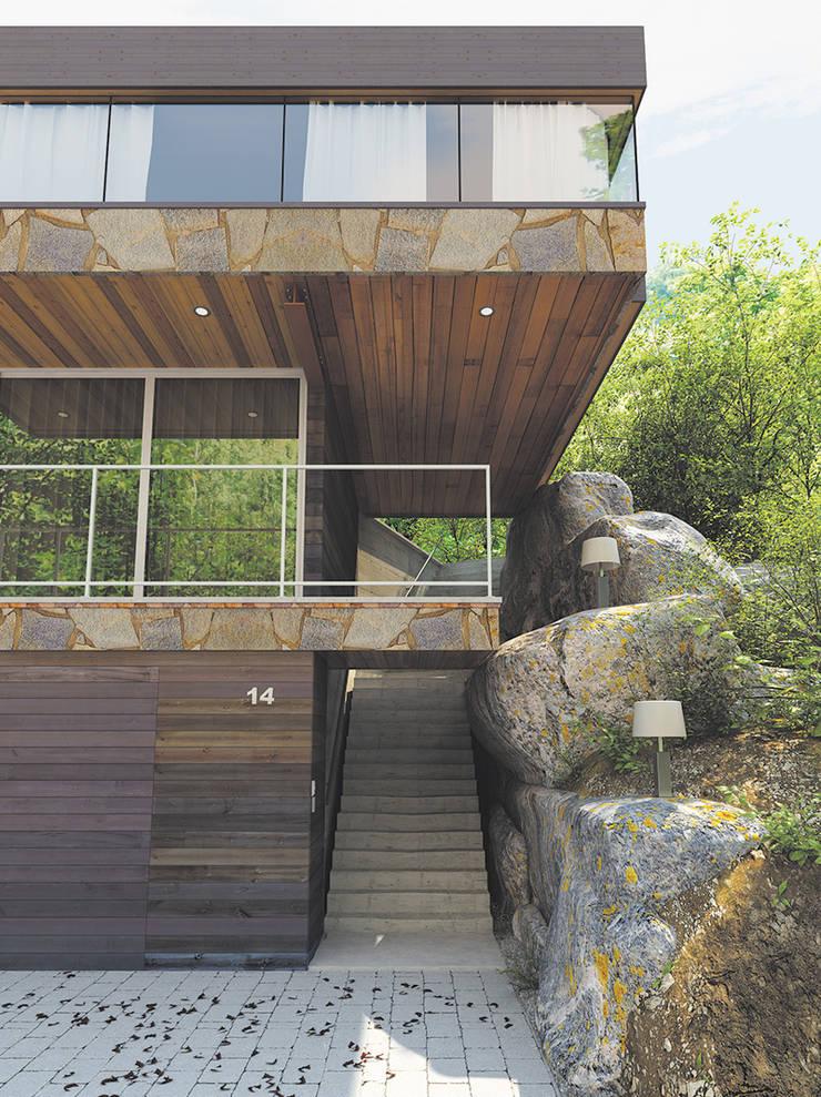 DOCKLIGHT: Jardín de estilo  de Comercial Martens