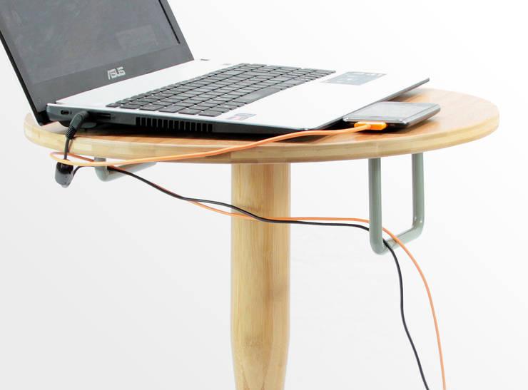 Safe Bedside Table:  Bedroom by Finoak LTD