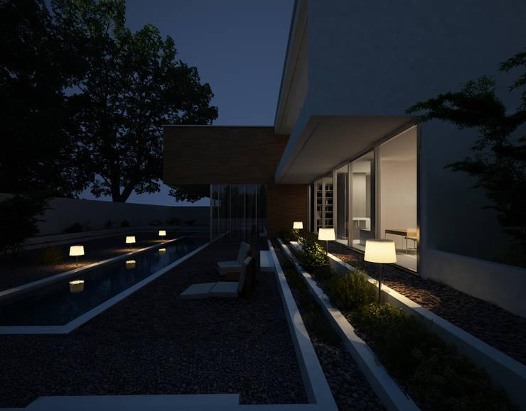 NOMAD: Jardín de estilo  de Comercial Martens
