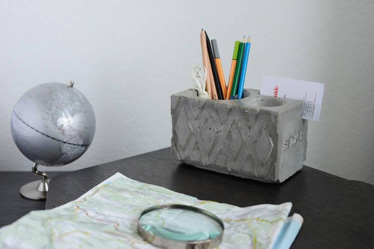 Органайзер из бетона Extraboss:  в . Автор – Owner /designer, Лофт