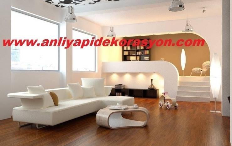 anlı yapı dekorasyon – salon dekorasyon:  tarz İç Dekorasyon