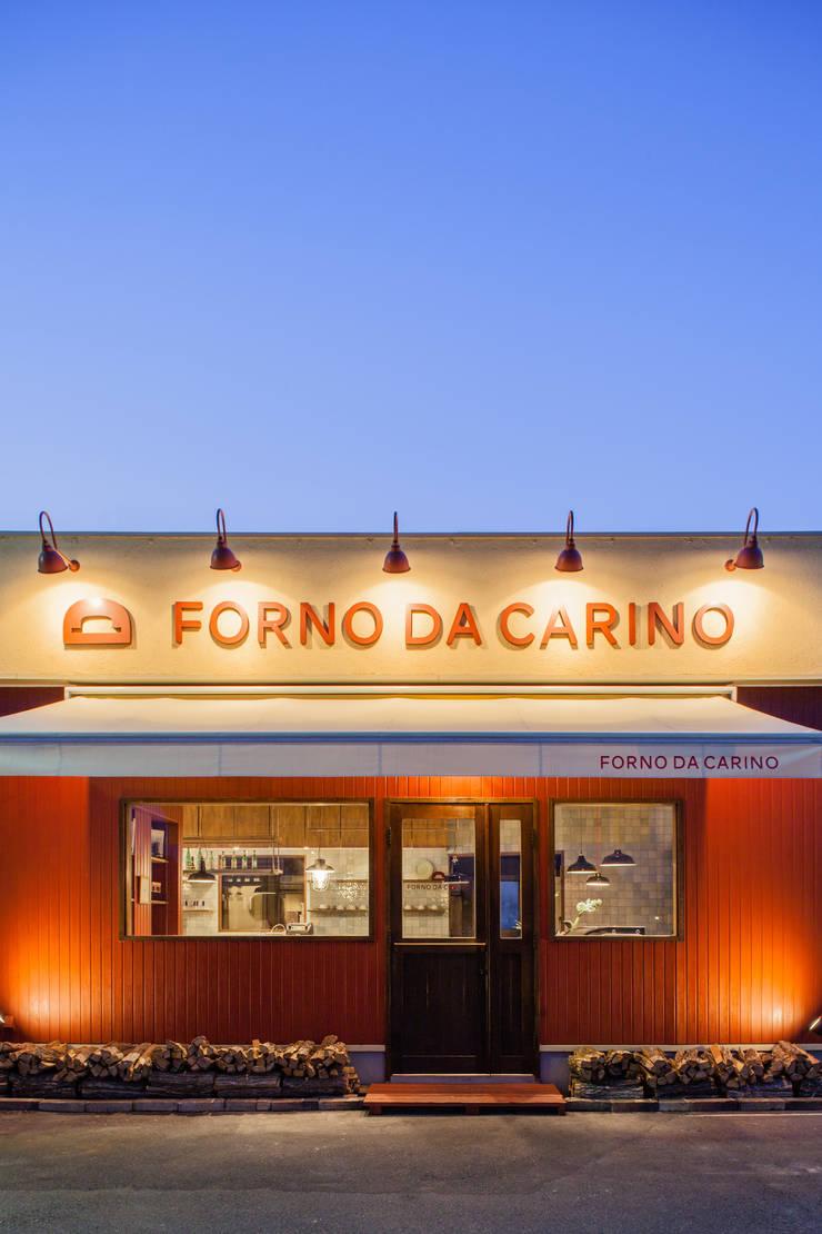 FORNO DA CARINO: Innovation Studio Okayamaが手掛けたレストランです。