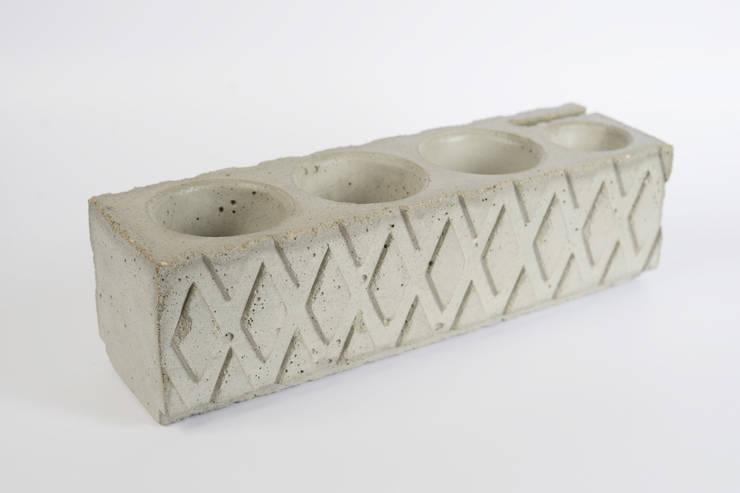 Органайзер / карандашница из бетона Archiboss: Офисные помещения и магазины в . Автор – Owner /designer