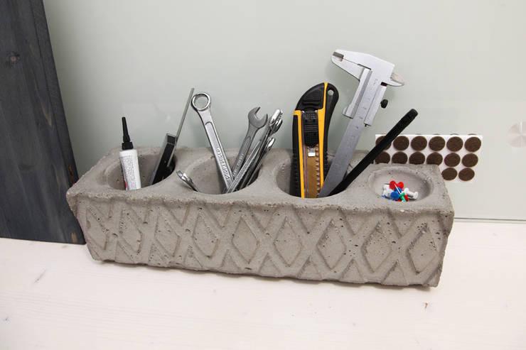 Органайзер / карандашница из бетона Archiboss: Детская комната в . Автор – Owner /designer